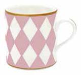 Halcyon Days Parterre Pink Mug, MPN: BCPAR26MGG