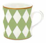 Halcyon Days Parterre Green Mug, MPN: BCPAR09MGG