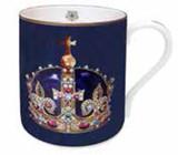 Halcyon Days HRP Henry VIII Crown Mug, MPN: BCHHC13MGG