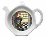 Halcyon Days Shakespeare Tea Bag Tidy, MPN: BCSHA01TBN