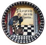 Halcyon Days Shakespeare Coaster Set x 4, MPN: BCSHA01SCN