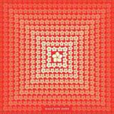 Halcyon Days Tropical Fade Red 90x90 100% Silk Scarf, MPN: SATRF06SS90