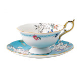 Wedgwood Wonderlust Wonderlust Teacup & Saucer Set Apple Blossom, MPN: 40024024, UPC: 701587315456