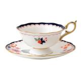 Wedgwood Wonderlust Wonderlust Teacup & Saucer Set Jasmine Bloom, MPN: 40024022, UPC: 701587315432