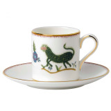 Wedgwood Mythical Creatures Mythical Creatures Espresso Cup & Saucer Set, MPN: 40015247, UPC: 701587253062