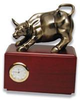Wall Street Bull (Small) with clock MPN: GL2957