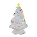 14 Inch White Nostalgic Christmas Tree, MPN: GM18062, UPC: 51053173777