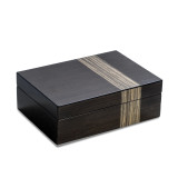 Ash Finish Wood 4-Watch and Jewelry Box GM18305