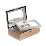 Salmon Finish Wood with Removeable Tray Jewelry Box, MPN: GM18321, UPC: 797140576792