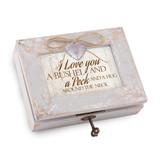 Bushel & a Peck Heart Locket Music Box Distressed Finish, MPN: GM18547, UPC: 633303846886