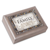 Family Tree Music Box Jeweled Woodgrain Resin, MPN: GM18582, UPC: 633303847210