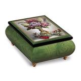 Artist Brenda Burke - The Little Dragon Vase Music Box, MPN: GM18758, UPC: 802192951197