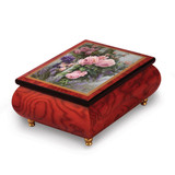 Artist Brenda Burke - The Old English Rose Music Box, MPN: GM18759, UPC: 802192951198