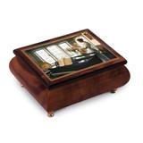 Artist Sandra Kuck - Flowers and Piano Music Box, MPN: GM18764, UPC: 802192956002