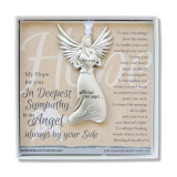 Deepest Sympathy Angel Boxed with Sentiment, MPN: GM18779, UPC: 667788302940