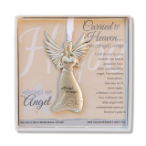 Carried to Heaven Infant Sympathy Angel Boxed with Sentiment, MPN: GM18780, UPC: 667788307075