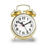Keywind Bell Alarm Clock, MPN: GM19011, UPC: 47404130124
