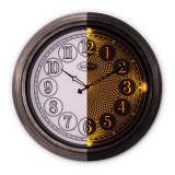 Indoor Outdoor Lighted Dial Wall Clock MPN: GM19017
