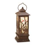 LED Glitterdome Bronze Resin Deer Lantern, MPN: GM19053, UPC: 89945576931