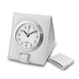 White Folding Alarm Clock, MPN: GM19177, UPC: 633944005031