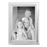 Smooth Beaded 4x6 Photo Frame Silver-plated, MPN: GM19320, UPC: 826635111467