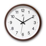 Walnut Finish Wall Clock, MPN: GM19701, UPC: 73174214957