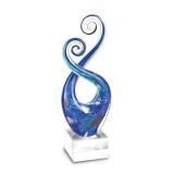 Badash Crystal Monet Swirl Centerpiece, MPN: GM19718, UPC: 769076011661