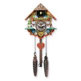 Musical Multi-Colored Quartz Cuckoo Clock, MPN: GM19764, UPC: 711705004131