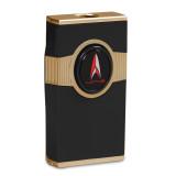 Hamilton Triple Torch Table Lighter - Black & Gold Engravable, MPN: GM19872, UPC: 894236015170