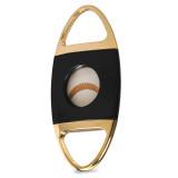 Jaws Serrated Cigar Cutter - Black & Gold-NEW, MPN: GM19884, UPC: 894236015569