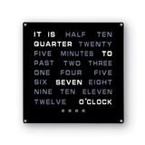 LED Word Wall Clock, MPN: GM20203, UPC: 700629021409