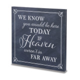 Lillian Rose Here Today Canvas Wedding Sign, MPN: GM20406, UPC: 710309429524