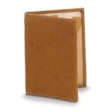 Tan Leather Cowhide Slim Card Case Engravable, MPN: GM20643, UPC: 892925156760