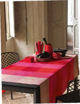 Le Jacquard Francais Fleurs De Kyoto Cherry Coated Fabric Yardage 61 Inch MPN: 22088 EAN: 3660269220884