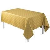 Le Jacquard Francais Anneaux Gold Tablecloth Square 67 X 67 Inch MPN: 22537 EAN: 3660269225377