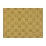 Le Jacquard Francais Anneaux Gold Tablecloth Round 67 Inch MPN: 22569 EAN: 3660269225698