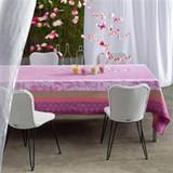 Le Jacquard Francais Jardin De Paradis Wistaria Coated Tablecloth 69 X 69 Inch MPN: 22768 EAN: 3660269227685