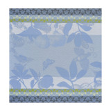 Le Jacquard Francais Jardin De Paradis Light Blue Napkin 23 X 23 Inch MPN: 22778 EAN: 3660269227784