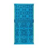 Le Jacquard Francais Santorin Turquoise Beach Towel 39 X 78 Inch MPN: 22825 EAN: 3660269228255