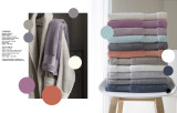 Le Jacquard Francais Caresse Scandinavian Blue Robe Small Size MPN: 22929 EAN: 3660269229290