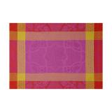 Le Jacquard Francais Pondichery Sari Placemat 21 X 15 Inch MPN: 23009 EAN: 3660269230098