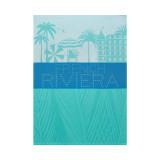 Le Jacquard Francais French Riviera Azure Tea Towel 28 X 20 Inch MPN: 23057 EAN: 3660269230579