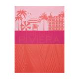 Le Jacquard Francais French Riviera Coral Tea Towel 28 X 20 Inch MPN: 23060 EAN: 3660269230609