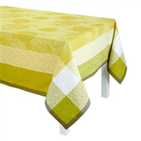 Le Jacquard Francais Parfums De Bagatelle Freesia Tablecloth 69 X 126 Inch MPN: 23092 EAN: 3660269230920