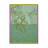 Le Jacquard Francais Fruits Du Verger Green Tea Towel 24 X 31 Inch MPN: 23450 EAN: 3660269234508