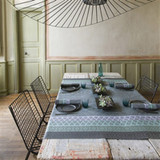 Le Jacquard Francais Bastide Grey Coated Tablecloth 69 X 69 Inch MPN: 23491 EAN: 3660269234911