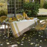 Le Jacquard Francais Bastide Ivory Coated Tablecloth 69 X 98 Inch MPN: 23495 EAN: 3660269234959