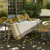 Le Jacquard Francais Bastide Ivory Coated Tablecloth 59 X 86 Inch MPN: 23511 EAN: 3660269235116