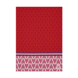 Le Jacquard Francais Allover Paris Red Tea Towel 28 X 20 Inch MPN: 23546 EAN: 3660269235468