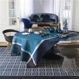 Le Jacquard Francais Palace Peacock Tablecloth 69 X 69 Inch MPN: 23560 EAN: 3660269235604
